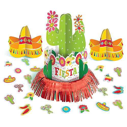 Fiesta Time Table Decorating Kit 23pc Image #1