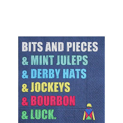Kentucky Derby Bits & Pieces Beverage Napkins 16ct Image #1