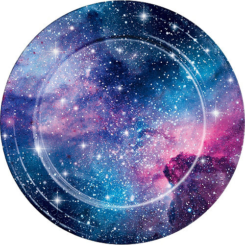 Galaxy Lunch Plates 8ct Image #1