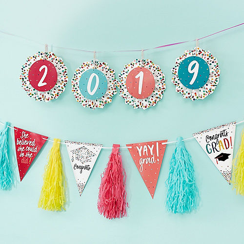 Nav Item for Yay Grad Tassel Garland Image #2