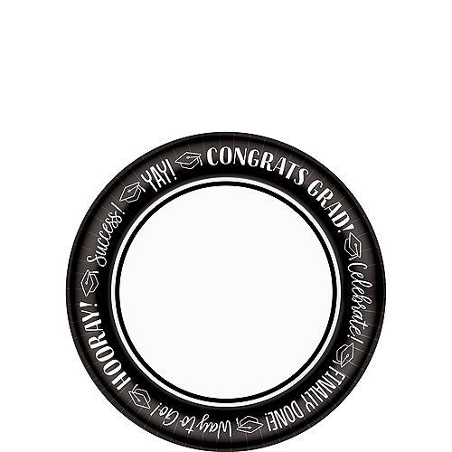 Celebrate Success Graduation Appetizer Plates 40ct Image #1