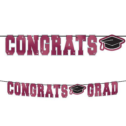 Berry Congrats Grad Letter Banner Image #1