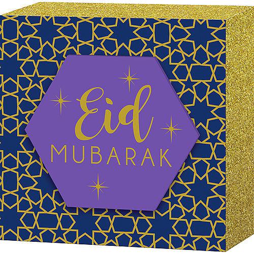 Eid Mubarak Block Sign Image #1