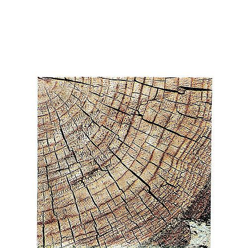 Cut Timber Beverage Napkins 16ct Image #1