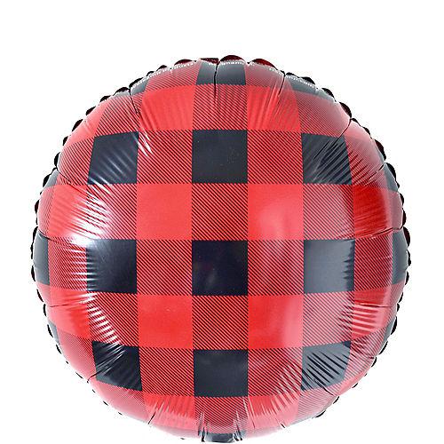Buffalo Plaid Balloon Image #1