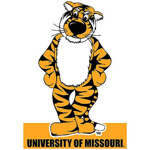 Missouri Tigers Mascot Table Sign Image #1