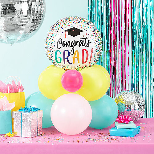 Yay Grad Balloon, 17in Image #2