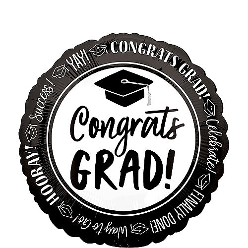 Celebrate Success Graduation Balloon, 17in Image #1