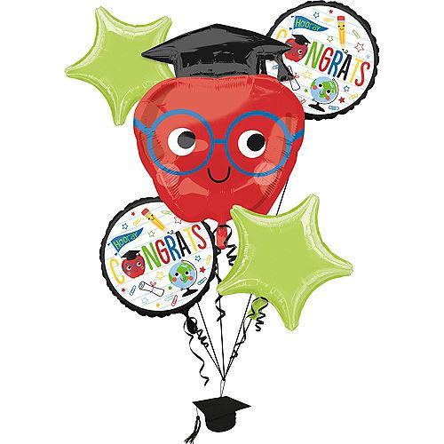 Future Dreamer Graduation Balloon Bouquet 5pc Image #1