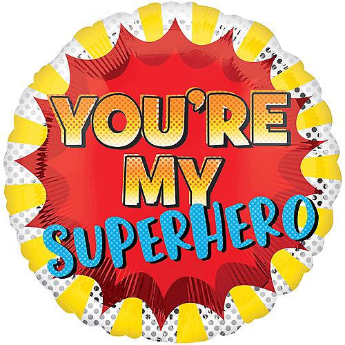 You're My Superhero Balloon, 19in Image #1