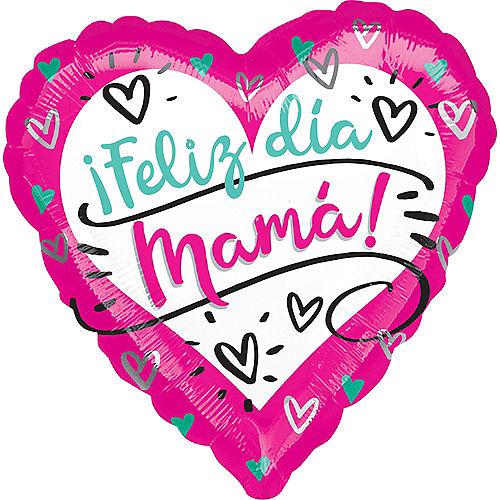 Feliz Dia Mama Balloon, 17in Image #1