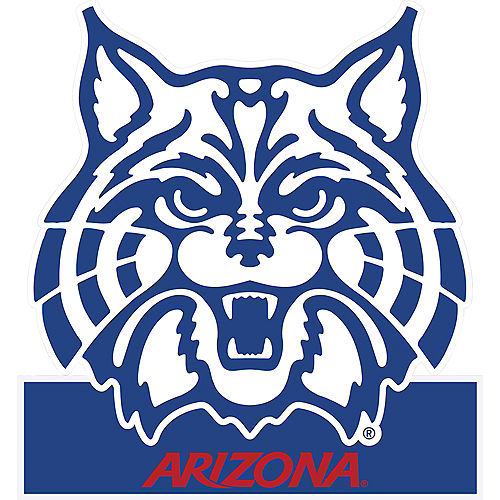 Arizona Wildcats Mascot Table Sign Image #1