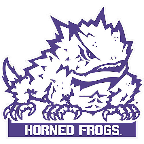 TCU Horned Frogs Mascot Table Sign Image #1