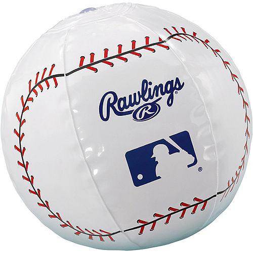 MLB Inflatable Baseballs, 12ct Image #1