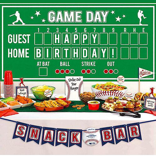 Baseball Buffet Decorating Kit 13pc Image #1