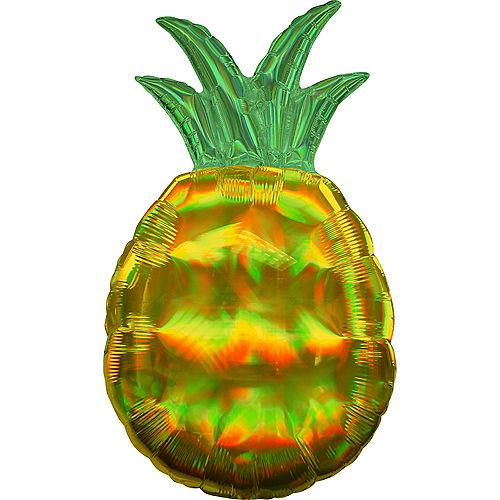 Giant Iridescent Pineapple Balloon, 31in Image #1