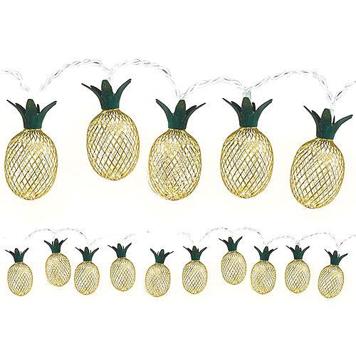 Gold Pineapple LED String Lights Image #1