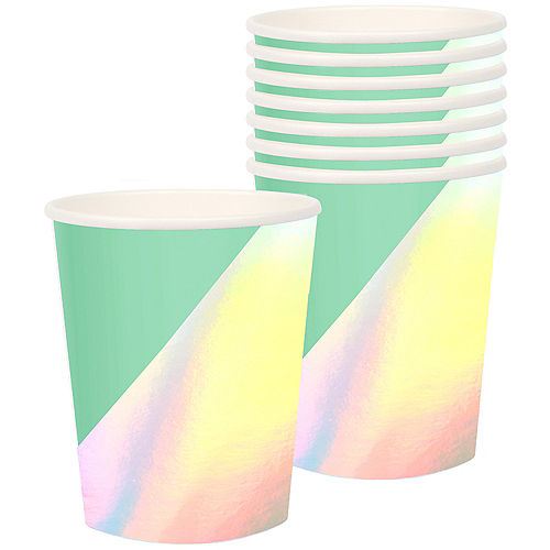Shimmering Party Cups 8ct Image #1