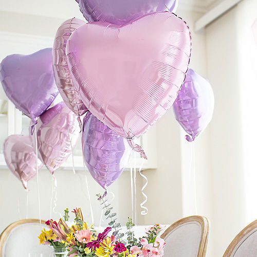 17in Purple Heart Balloon Image #2
