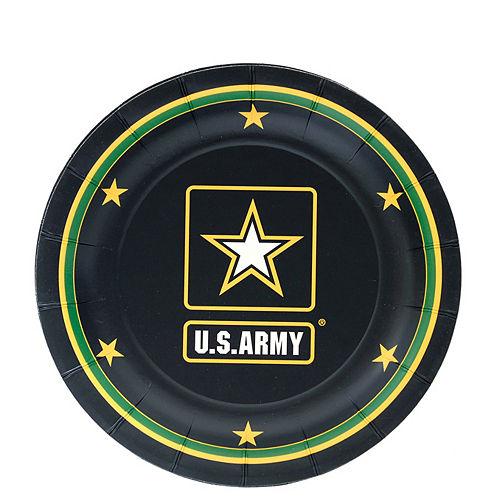US Army Dessert Plates 8ct Image #1