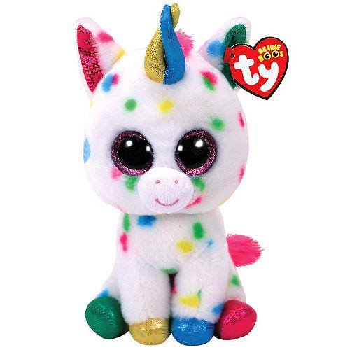 Harmonie Beanie Boo Unicorn Plush Image #1