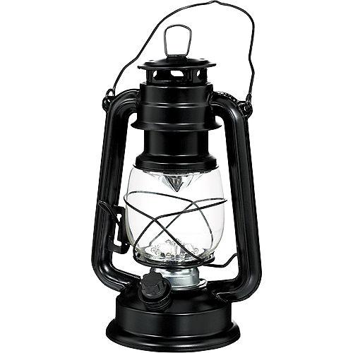 Old West Metal LED Hurricane Lantern Image #1