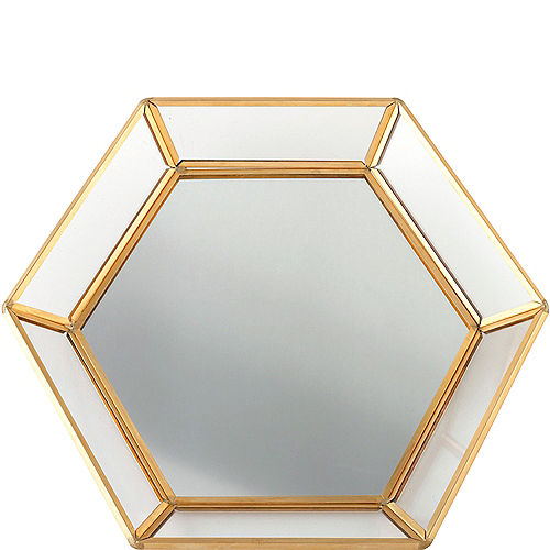 Gold Mirrored Tray Image #1
