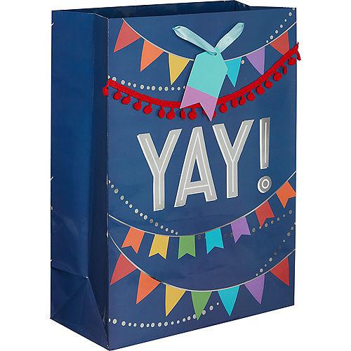 Large Glossy Layered Banner Gift Bag Image #1