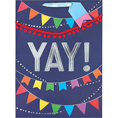 Large Glossy Layered Banner Gift Bag Image #2