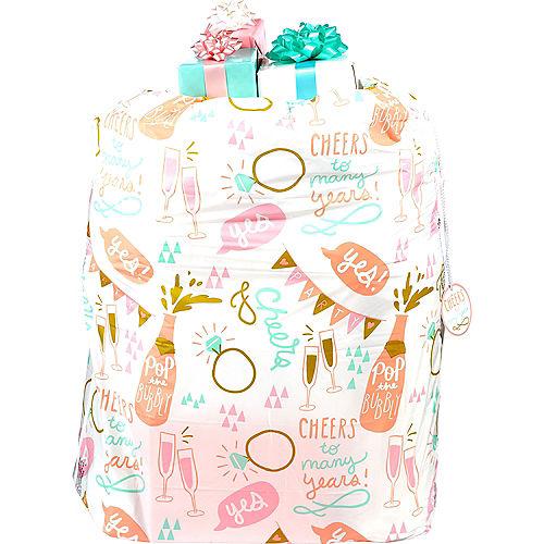 Gold & Pink Wedding Gift Sack Image #1