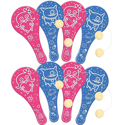 UglyDolls Paddle Balls 8ct Image #1