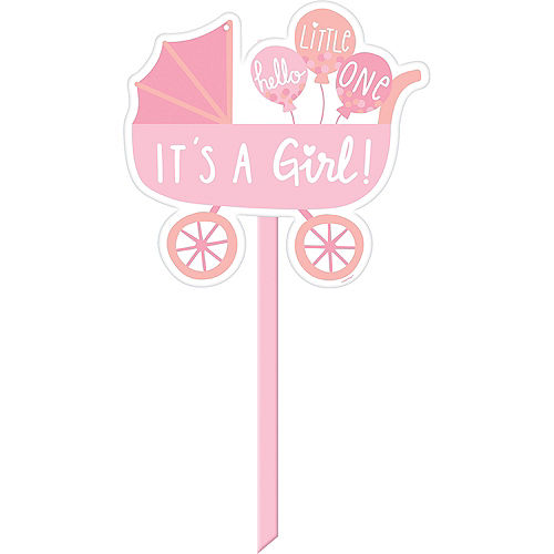 It's a Girl Yard Sign Image #1