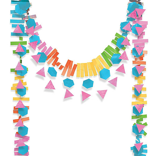 Multicolor Layered Garland 3pc Image #1