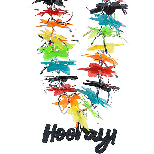 Multicolor Hooray Lei Image #1