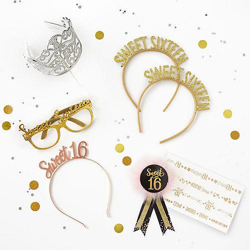 Elegant Sweet 16 Birthday Award Ribbon Image #2