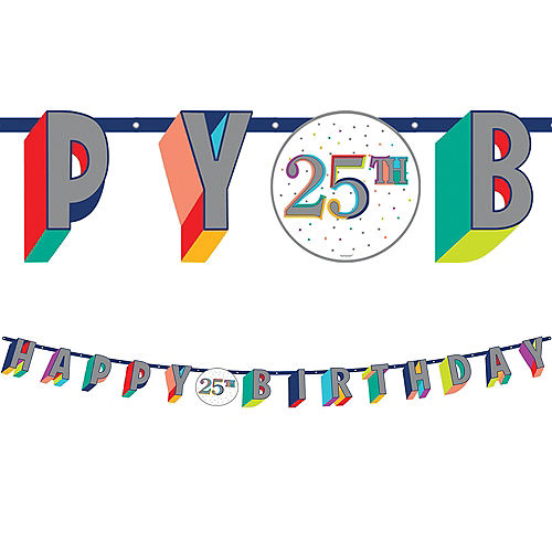 Here's to Your Birthday Banner Kit Image #1