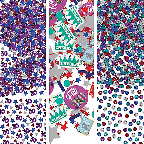Here's to 30 Birthday Confetti Image #1