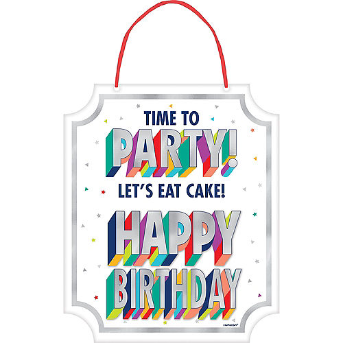 Here's to Your Birthday Sign Image #1