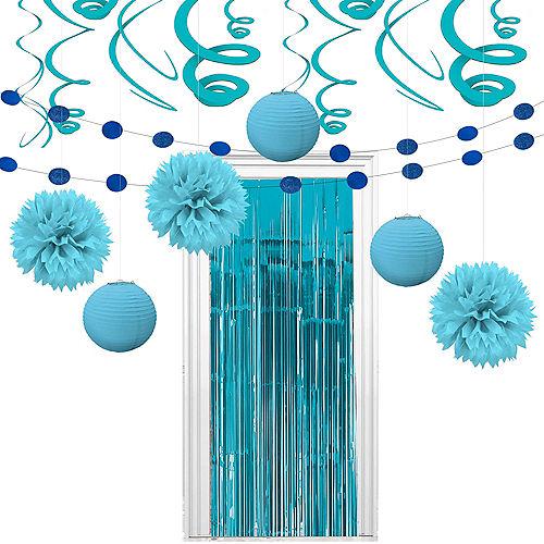 Super Caribbean Blue Decorating Kit Image #1