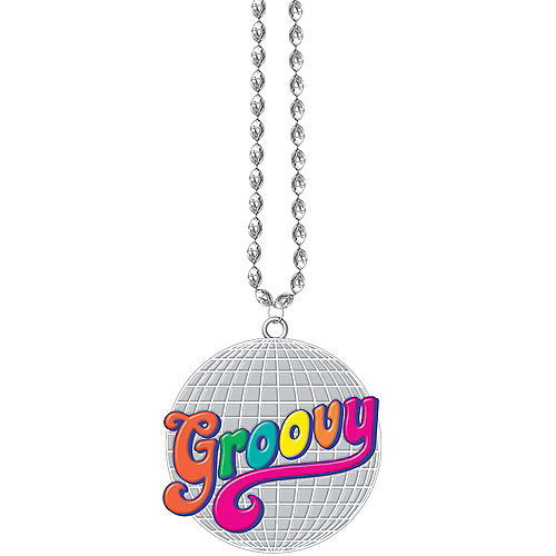 Good Vibes 70s Bead Necklace Image #1