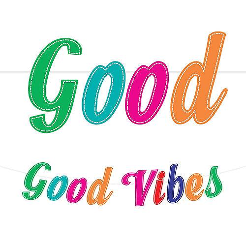 Good Vibes 70s Letter Banner Image #1
