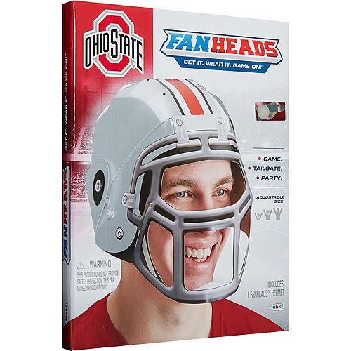 FanHeads Ohio State Buckeyes Helmet Image #3