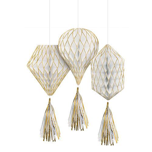 Gold Honeycomb Decorating Kit Image #3