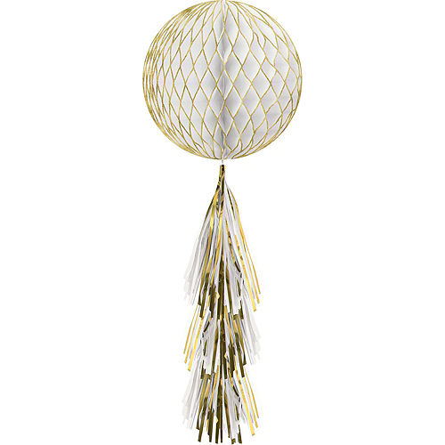 Gold Honeycomb Decorating Kit Image #5
