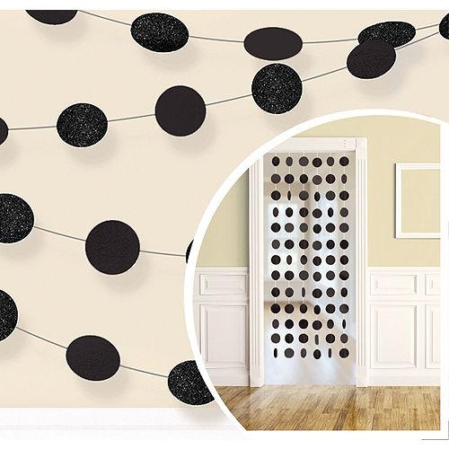 Black Honeycomb Decorating Kit Image #2