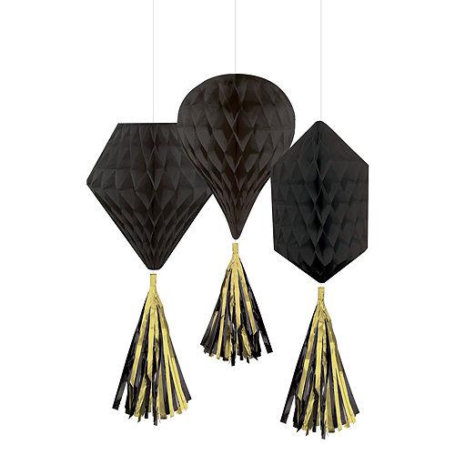 Black Honeycomb Decorating Kit Image #3