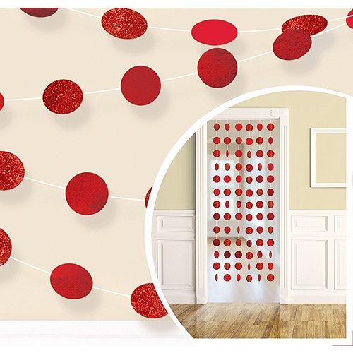 Red Honeycomb Decorating Kit Image #2