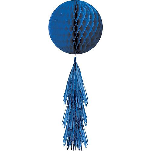 Royal Blue Honeycomb Decorating Kit Image #5