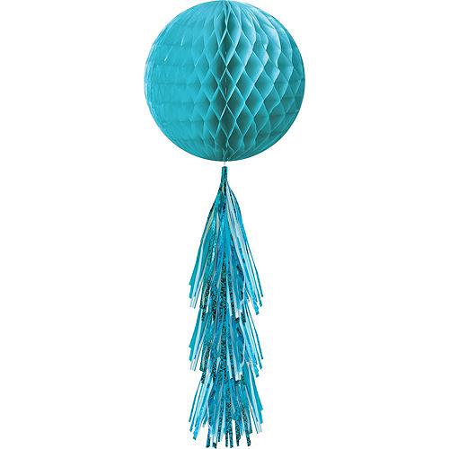 Caribbean Blue Honeycomb Decorating Kit Image #5