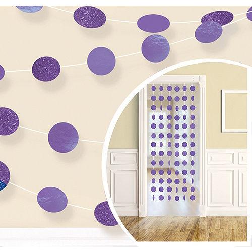 Purple Honeycomb Decorating Kit Image #2